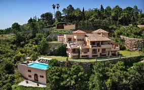 Fragrant Jasmine Plants Luxury Villas In Marbella Spain