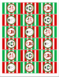 christmas hershey u0027s mini candy bar favor labels label templates