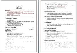 resume tips axis career services