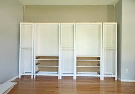 sauder bookcase with glass doors diy built in bookcase reveal an ikea hack u2013 studio 36 interiors