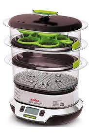 cuisine a la vapeur cuiseur vapeur seb vs404300 vitacuisine compact darty