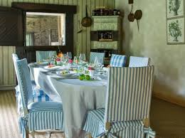 blue and white striped dining room chairs best dining room