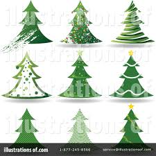 christmas tree clipart 1127171 illustration by dero