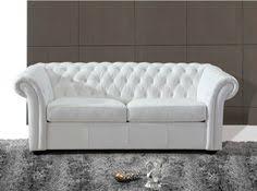 canap chesterfield cuir blanc canapé chesterfield cuir blanc recherche meubles design