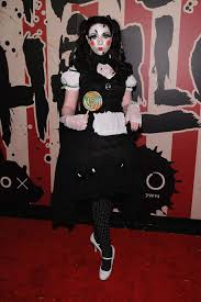 party city halloween 2014 michelle trachtenberg heidi klum u0027s halloween party 2014 in new