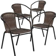 Dining Chair Set Of 4 Modern Outdoor Dining Chairs Allmodern