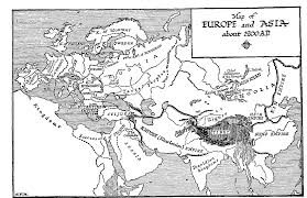 Europe Asia Map 33 1 Asia At The End Of The Twelfth Century U2014 The Outline Of