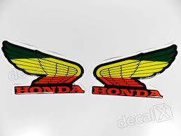 Top Adesivos Asa Honda Resinado Jamaica 12x8,5 Cms Re22 - Adesivos  @UI88