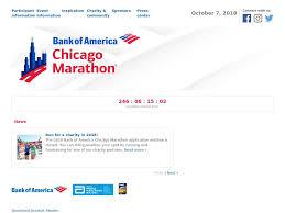 Chicago Marathon Map Chicago Marathon Chicago Usa Oct 07 2018
