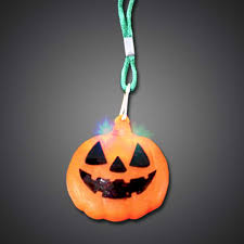 halloween flashing necklace
