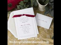 Make Wedding Invitations Make Wedding Invitations For A Living Youtube