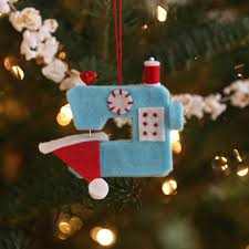 ho ho sew ornament during time