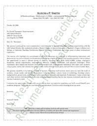 My Resume Is Two Pages Special Education Program Specialist Cover Letter