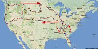 Northwest Florida Map by Dr Bob U0027s Us Northwest Motorcycle Ride