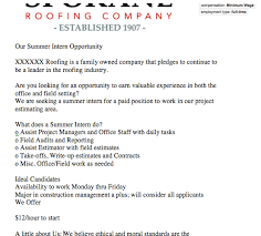 Seeking Ad Roofing Contractor Seeking Intern Pro Remodeler