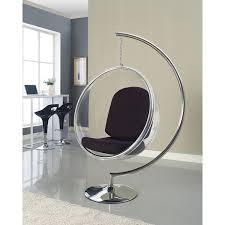 amazon com modway eero aarnio style bubble chair with black