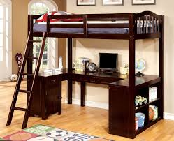 Bed And Computer Desk Combo Bunk Beds With Desk And Storage Combo Different Types Of Bunk