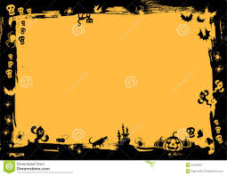 halloween paper border halloween black border royalty free stock photography image
