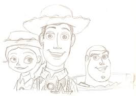 woody toy story sketch u2013 images free download