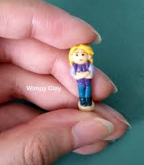 wimpy clay miniature clay disney prince princess polly