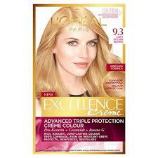 garnier nutrisse 93 light golden blonde reviews buy excellence crème 9 3 light golden blonde 1 pack by l oreal paris