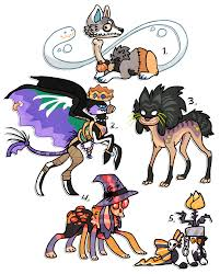 halloween designs up for auction by griffsnuff on deviantart