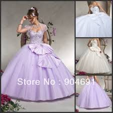 lilac tulle quinceanera dress prom dress big bow ivory wedding