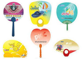 promotional fans plastic promotional gift fans