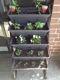Vertical Garden For Balcony - balcony gardening freestanding vertical garden edition
