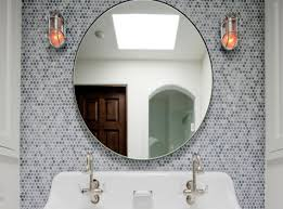 mirror mirror wall art amazing round mosaic mirrors champagne
