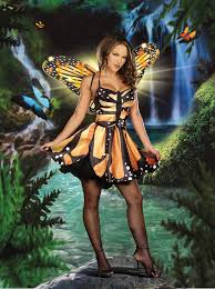 Monarch Butterfly Halloween Costume 3 Pc Monarch Fairy Costume Amiclubwear Costume Store