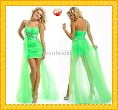 lime green prom dresses cocktail dresses 2016