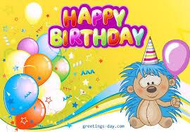 birthday card happy birthday cards for kids disney print