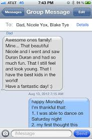 the modern thanksgiving in a text message texts thankful and