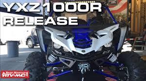 2016 yamaha yxz 1000 r demo day release youtube