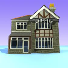 British Houses Model 2 British Detached Houses