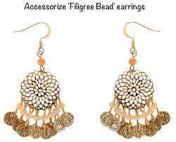 accessorize earrings kate filigree bead accessorize earrings india copy what kate wore