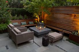 Outdoor Patio Firepit Awesome Backyard Patio With Pit Coffee Table And Modern