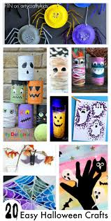 easy halloween crafts 20 easy halloween crafts arty crafty kids