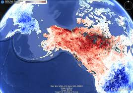 Alaska Temperature Map by The Burning Season Alaska U0027s Interior Is On Fire Imageo