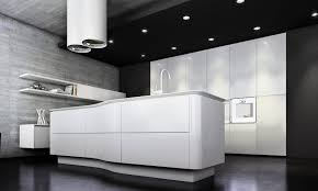Luxury Modern Kitchen Designs Appliances Awesome White Red Black Glass Cool Design Italian