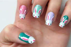 Easter Nail Designs Bunnies Eggs 10 D I Y Easter Nail Art Designs Nbc News