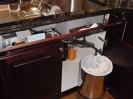 Kitchen Cupboard Garbage Bins by Kitchen Garbage Cans Under Sink Innovative Kitchen Garbage Cans