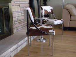 Faux Cowhide Chair Cowhide Chairs Chair American West Solid Wood Chair Cbd675