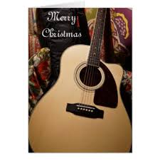 acoustic guitar cards greeting photo cards zazzle