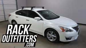 Roof Box For Nissan Juke by Nissan Altima Outfitted With Yakima Baseline Corebar Roof Rack