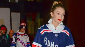 new york rangers fans bella and gigi hadid may have just become the biggest new york r