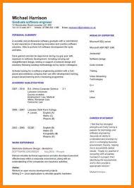 Resume Sample For Nurses Fresh Graduate by 7 Cv Sample For Fresh Graduate Nurse Resumed