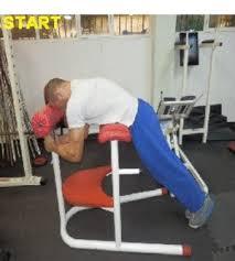 Leg Lift Bench Lower Back Exercises ασκησεισ ραχιαιων Chrisgym