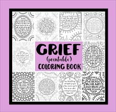 May The God Of All Comfort Grief Coloring Book Comforting Scriptures Grief Process